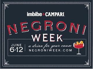 'Negroni week' en Marengo y La Bocca  (del 6 al 12)