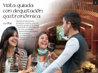 BARBASTRO. Enoturismo y maridaje de vino con productos del Somontano (fines de semana de junio)