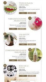 HUESCA. Talleres infantiles de manualidades (sábados de julio)