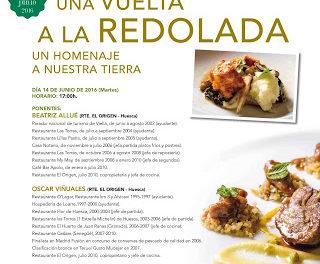 HUESCA. Taller y cena Una vuelta a la redolada (martes, 14)
