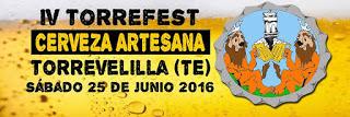 TORREVELILLA. Torrefest, fiesta de la cerveza artesana (sábado, 25)