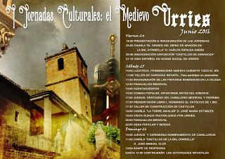 URRIÉS. Jornadas culturales del Medievo (del 24 al 26)
