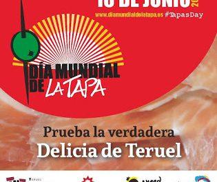 TERUEL. Día mundial de la tapa (jueves, 16)