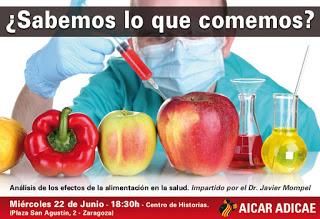 Conferencia sobre alimentación y salud (miércoles, 22)