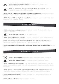 Semana cultural de la Madalena (del lunes, 20 al domingo, 26)