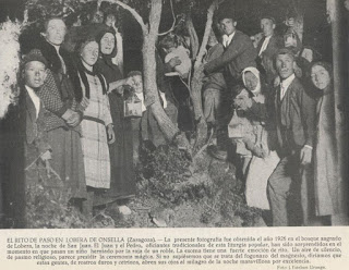 LOBERA DE ONSELLA. Merienda popular y Rito del herniado (sábado, 25)