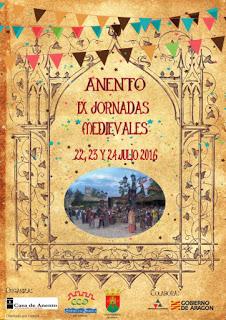 ANENTO. Jornadas medievales (del 22 al 24 de julio)