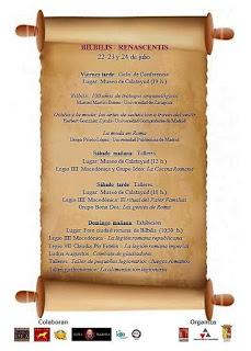 CALATAYUD. Jornadas Bílbilis Renascentis (del 22 al 24)
