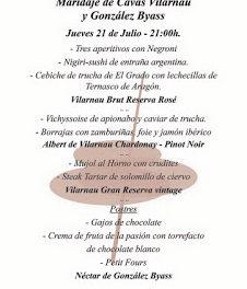 HUESCA. Cena maridaje (jueves, 21)