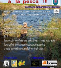 ESCATRÓN. Curso de iniciación a la pesca (sábado, 9, y domingo, 10)