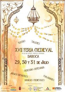 DAROCA. XVII Feria Medieval (del viernes, 29, al domingo, 31)