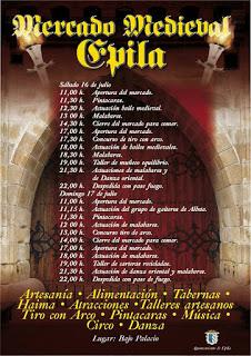 ÉPILA. Mercado medieval (días 16 y 17)