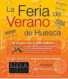 HUESCA. Feria de verano y de cerveza artesana (días 30 y 31)