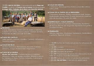 LITUÉNIGO. Feria de los oficios perdidos (sábado, 2)