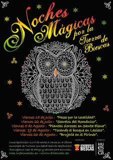 BIESCAS. Plantas olorosas en Santa Elena (viernes, 5)