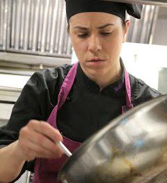 Charla de la cocinera Noelia Andía (martes, 12)