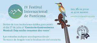 PANTICOSA. IV Festival Internacional de Panticosa (del 26 de julio al 4 de agosto)