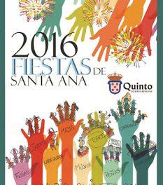 QUINTO DE EBRO. Fiestas en honor a Santa Ana (del sábado, 16, al sábado, 30)