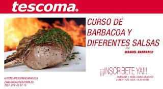 Curso de barbacoa y diferentes salsas (lunes, 11)