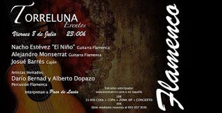 Cena y flamenco en TORRELUNA (viernes, 8)