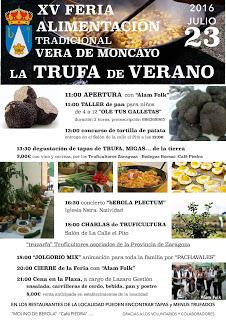 VERA DE MONCAYO. Feria de alimentación, la trufa de verano (sábado, 23)