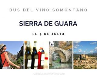 Excursión bus del vino Somontano (sábado, 9)