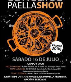 GRAÑÉN. Concurso paella show (sábado, 16)