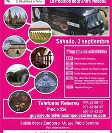 Excursión Ruta del Vino Campo de Cariñena (sábado 3)