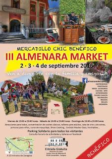 GARRAPINILLOS. Mercadillo chic benéfico Almenara Market (del 2 al 4)