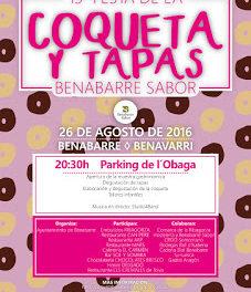 BENABARRE. Festa de la coqueta y Tapas Benabarre Sabor (viernes, 26)