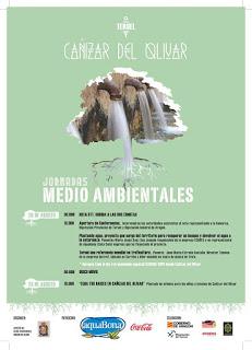 CAÑIZAR DEL OLIVAR. Jornadas medioambientales (días 20 y 23)