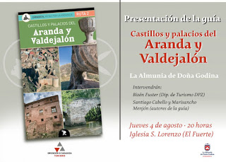 LA ALMUNIA DE DOÑA GODINA. Presentación de guía turística (jueves, 4)