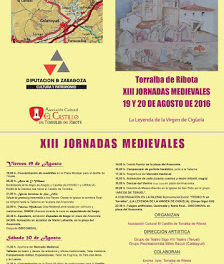 TORRALBA DE RIBOTA. Jornadas medievales (días 19 y 20)