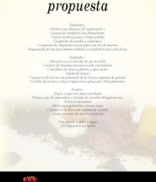 Nuevo menú en UROLA por 17 euros (del 17 al 31 de agosto)