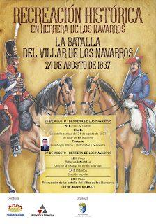 VILLAR DE LOS NAVARROS. Comida popular en la recreación histórica (sábado, 27)