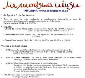AINSA. Mercado Medieval (del viernes, 2, al domingo, 4)