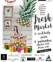 Fresh Market & Cocktail Party (domingo, 4)