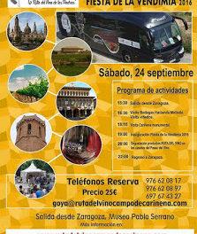 Excursión Ruta del Vino Campo de Cariñena (sábado, 24)