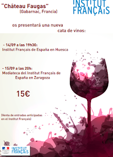 HUESCA. Cata de vino (miércoles, 14)