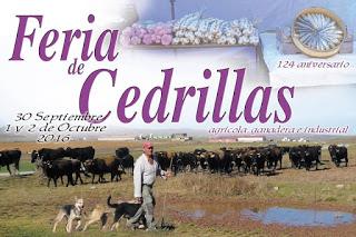 CEDRILLAS. Feria de ganado y maquinaria agrícola (del viernes, 30, al domingo, 2)