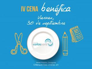 Cena benéfica de la Fundación Carlos Sanz (viernes, 30)