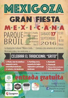"""Fiesta mexicana """"Mexigoza"""" (sábado, 17)"""