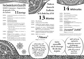 SALLENT DE GÁLLEGO. Feria ganadera (domingo, 11)
