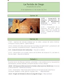 TERUEL. La Partida de Diego (del 29 al 2 de octubre)