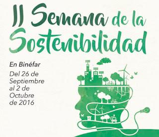 BINÉFAR. II Semana de la Sostenibilidad (del 26 al 2)