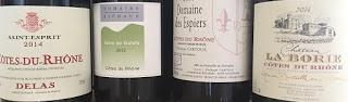 Cata de vinos de garnacha del Ródano  (jueves, 15)