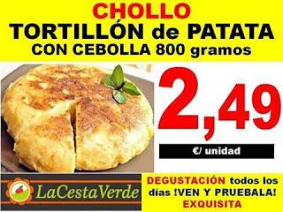 Degustación de tortilla (sábado, 10)