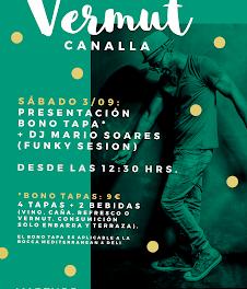 Vermú canalla en MARENGO (sábado, 3)