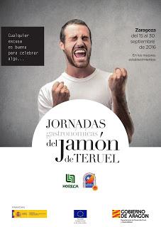 Jornadas gastronómicas del Jamón de Teruel (del 15 al 30 de septiembre)