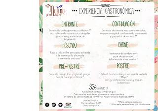 Menú EXPERIENCIA GASTRONÓMICA en el MOLINO DE SAN LÁZARO por 32 euros (hasta finales de diciembre)